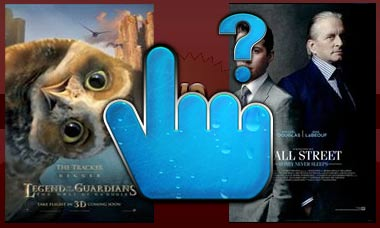 wall street 2 vs. legend of the guardians
