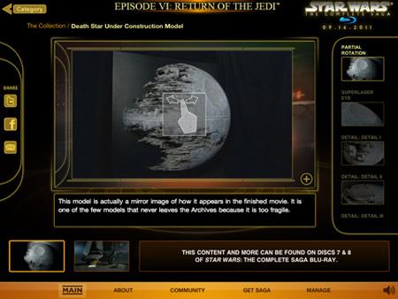 star wars blu-ray app screenshot