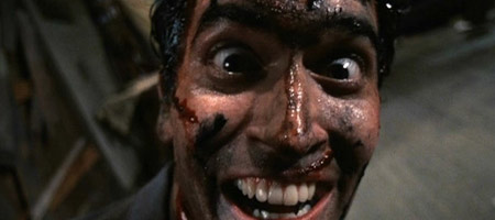 Bruce Campbell in Evil Dead II