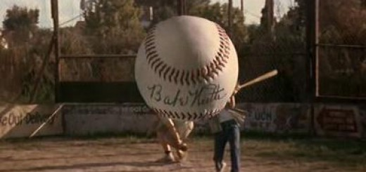 Sandlot - Baseball signed by Babe Ruth