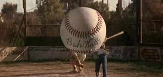 Sandlot - Baseball signed by Babe Ruth