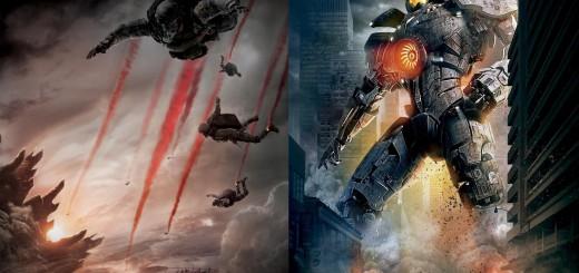 Godzilla-Pacific-Rim-Posters