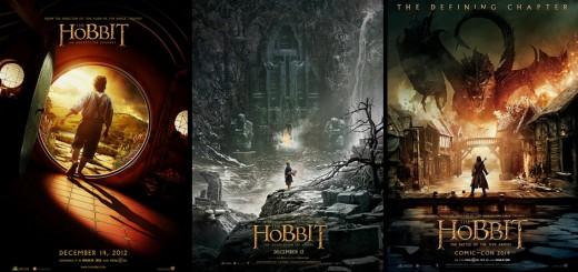 the-hobbit-trilogy-teaser-posters