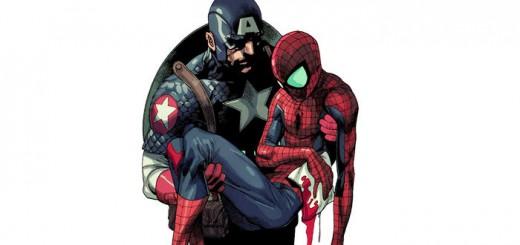Marvel-Captain-America-Saves-Spider-Man