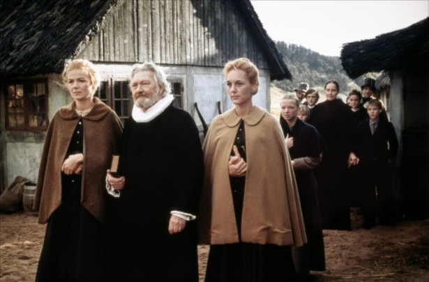 Father and daughters in BABETTE'S FEAST
