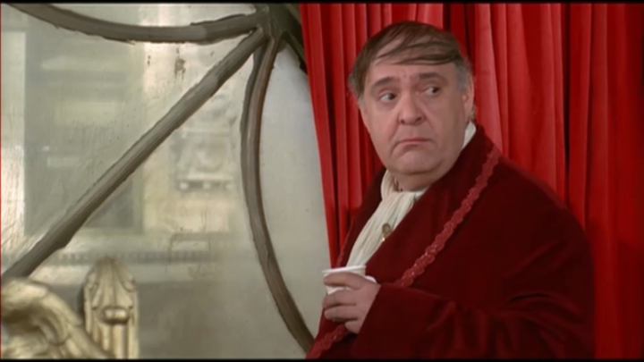 Zero Mostel in THE PRODUCERS
