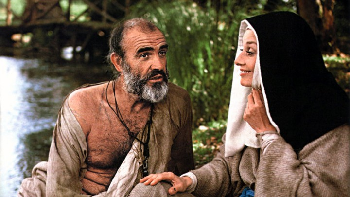 Connery and Hepburn