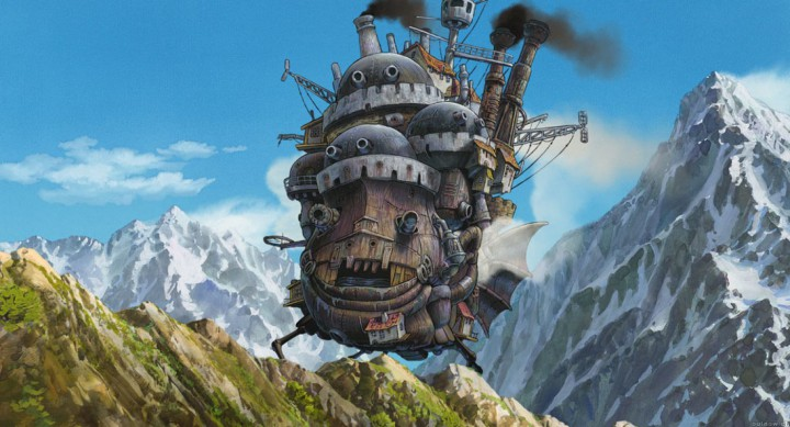 They don't call it a moving castle for nothing