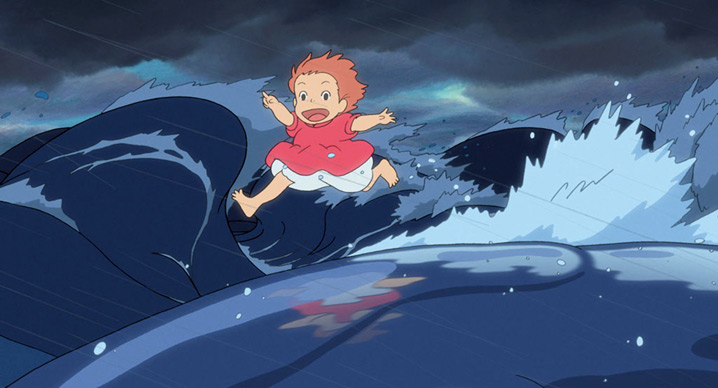 Ponyo on the waves