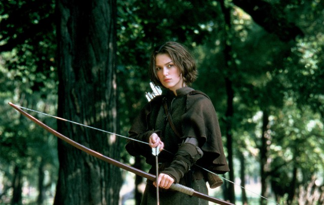 Knightley as Gwyn, daughter of Robin
