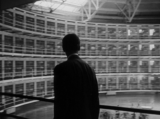 James Stewart visits the Stateville Correctional Center outside Chicago