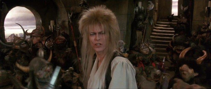 David Bowie's scenes and songs are the highlights of LABYRINTH