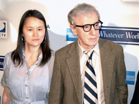 Allen and Soon-Yi in 2009