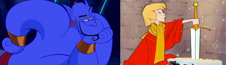 Who would win in a fight, Genie or Merlin?