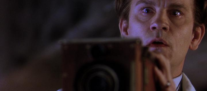 John Malkovich as F.W. Murnau in SHADOW OF THE VAMPIRE