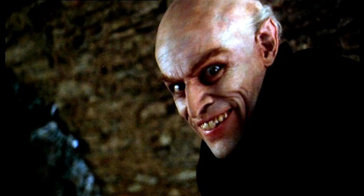 Willem Dafoe is all jokes in SHADOW OF THE VAMPIRE