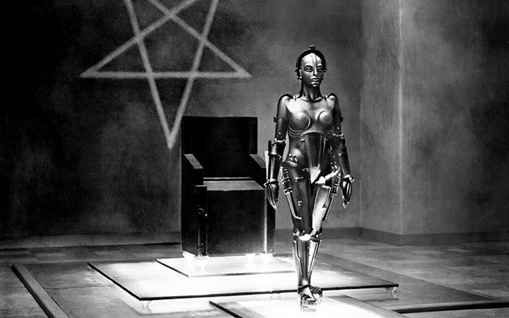 The robot in Fritz Lang's Metropolis.