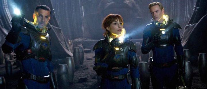 Elizabeth's hope stayed alive throughout Prometheus; can it survive Prometheus 2?