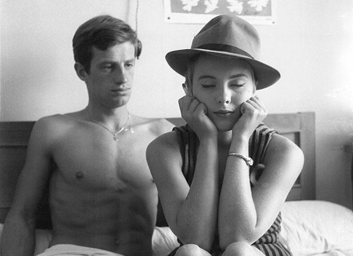 Jean-Luc Godard's Breathless.