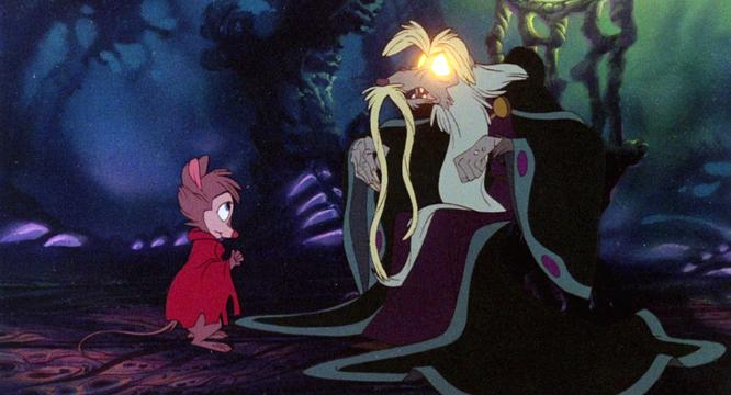 Nicodemus speaks with Mrs. Brisby