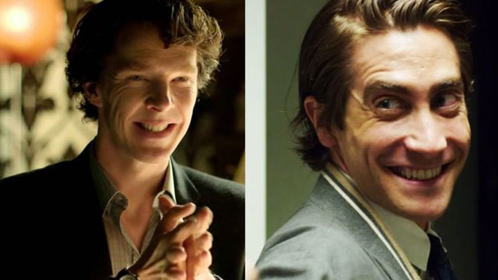 Gyllenhaal is direct, Cumberbatch is alternating...wink wink nudge nudge know what I mean know what I mean?