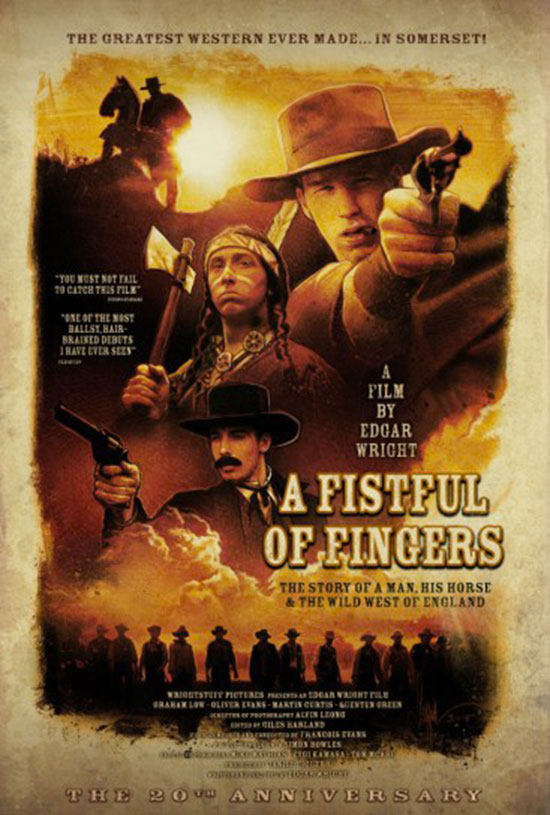 The Greatest Western Ever Made...In Somerset! (That's not me, folks, that's an actual tag line for the film.)