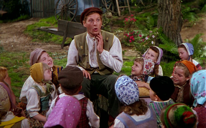 Danny Kaye's Hans Christian Andersen was my favorite movie when I was seven. It's still in my Top 500. For now.