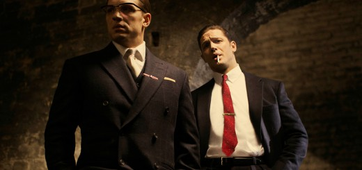 Tom Hardy plays two characters in the crime film LEGEND, which opens AFF 2015