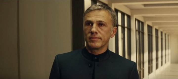 Academy Award winner Christoph Waltz as Blofeld
