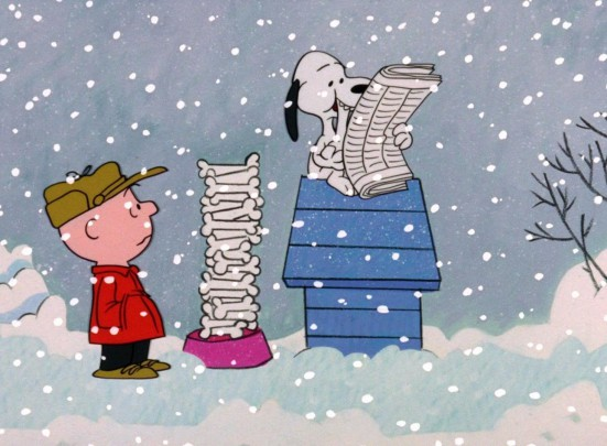 Bill Melendez directed A CHARLIE BROWN CHRISTMAS and voiced Snoopy