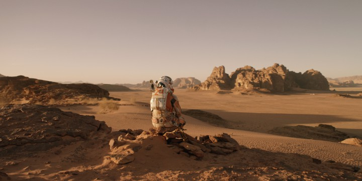 A still from THE MARTIAN, whose influence remains to be seen
