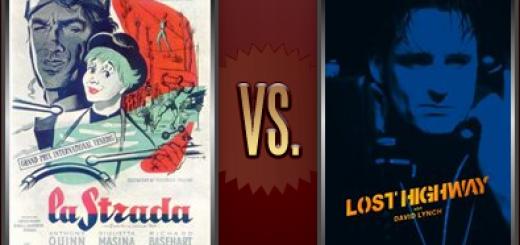 La Strada vs. Lost Highway   Flickchart