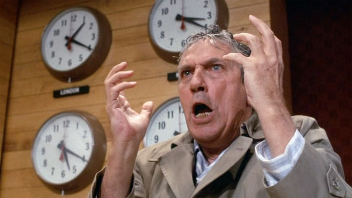 Peter Finch goes on an epic rant in NETWORK