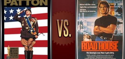 Patton vs. Road House   Flickchart
