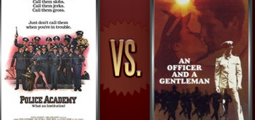 Police Academy vs. An Officer and a Gentleman   Flickchart