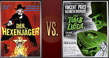 The Conqueror Worm vs. The Tomb of Ligeia Flickchart