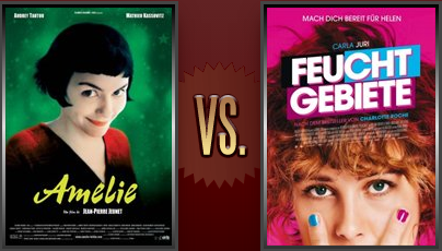 Amélie vs. Wetlands Flickchart