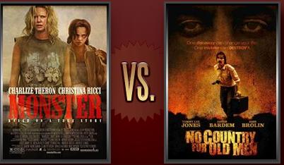 Monster vs. No Country for Old Men Flickchart