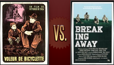 The Bicycle Thief vs. Breaking Away Flickchart