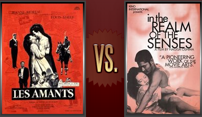 The Lovers vs. In the Realm of the Senses Flickchart