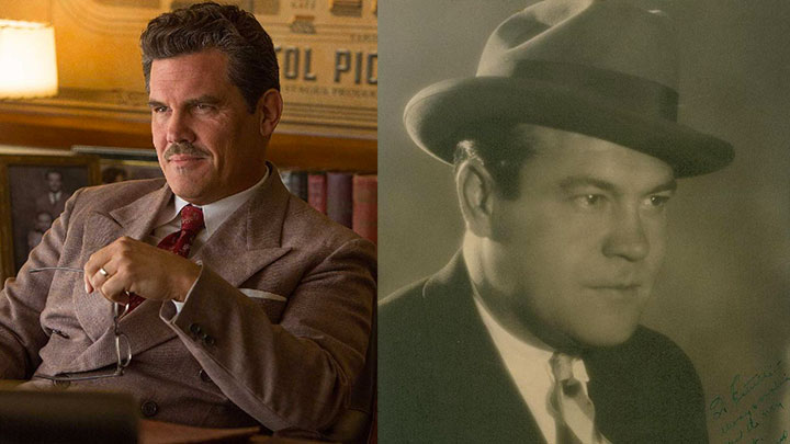 Josh Brolin as Eddie Mannix; Eddie Mannix himself