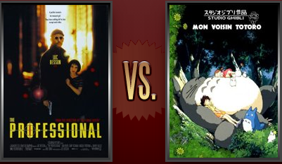 The Professional vs. My Neighbor Totoro Flickchart