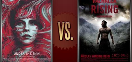 Under the Skin vs. Valhalla Rising   Flickchart