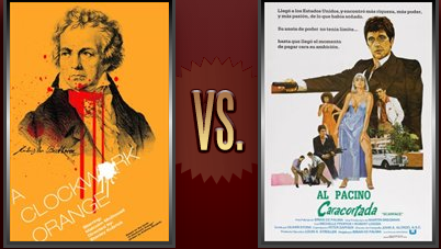 A Clockwork Orange vs. Scarface Flickchart
