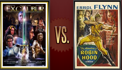 Excalibur vs. The Adventures of Robin Hood Flickchart