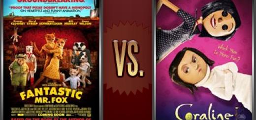 Fantastic Mr. Fox vs. Coraline   Flickchart
