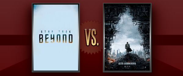 Star Trek Beyond vs. Into Darkness