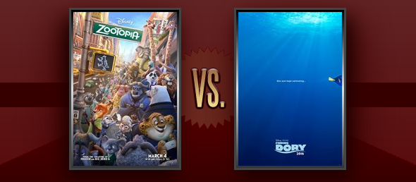 Matchup of the Day: Zootopia vs  Finding Dory | Flickchart