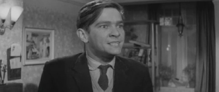 "Tom Courtenay as ""grateful"" Billy Fisher"