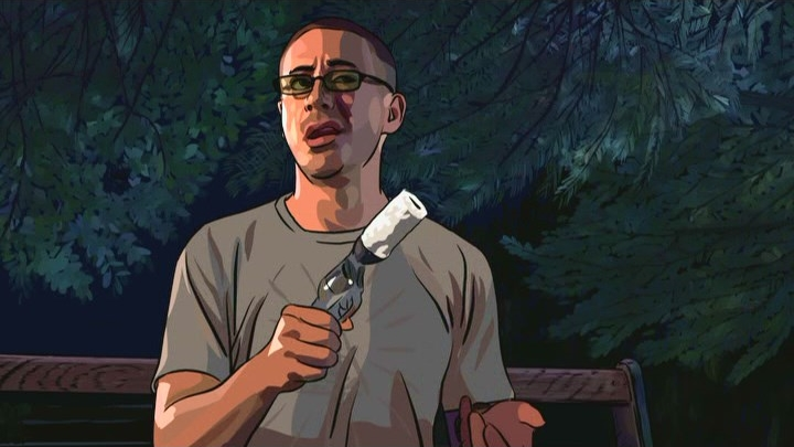 http://www.imfdb.org/wiki/File:Scanner_Darkly_-_James_Barris%27_Revolver_2.jpg